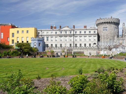 Castles in Dublin - Dublin Castle Panorama