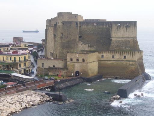 Castles in Italy - Castel dell'Ovo