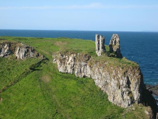 Castles in Northern Ireland - Dunseverick