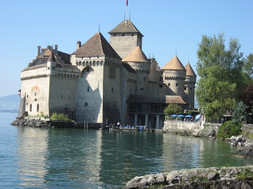 Chillon Castle Exterior