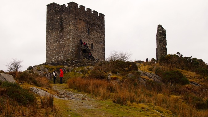 Dolwyddelan keep and West Tower