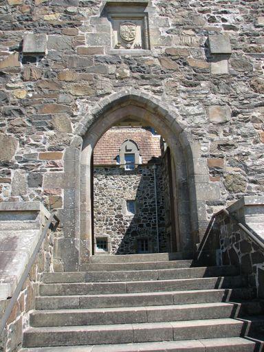 Duart Castle entrance