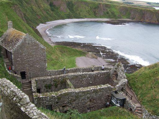 Dunnottar Castle gatehouse