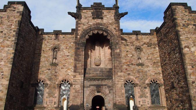 War Memorial within Edinburgh Castle
