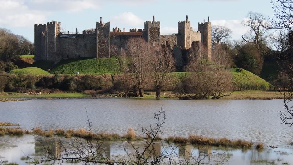 Framlingham Castle Across Mere