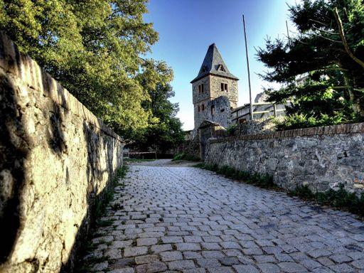 Road to Burg Frankenstein