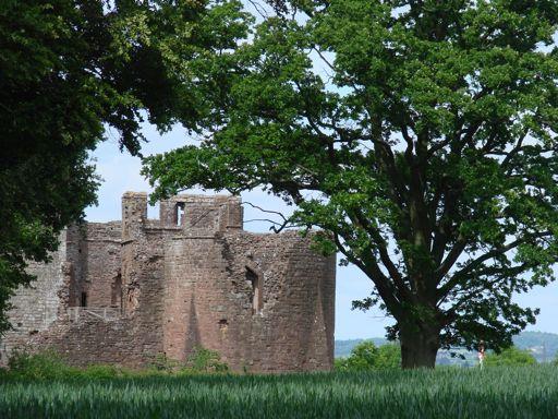 Path to Goodrich Castle