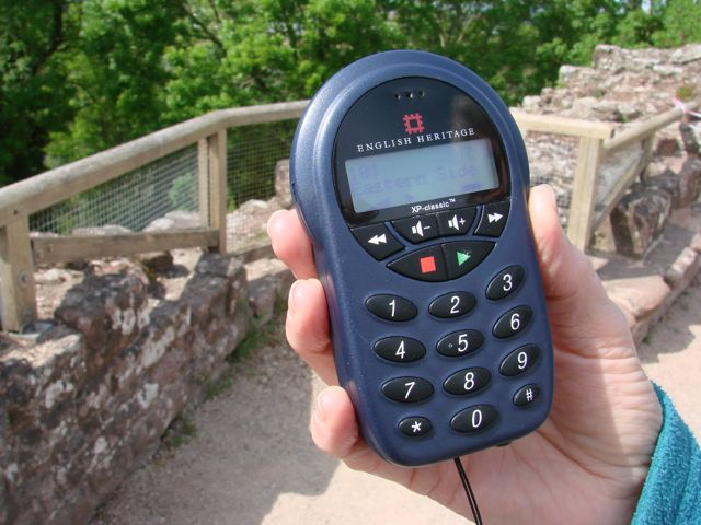 Goodrich Castle Audio Guide