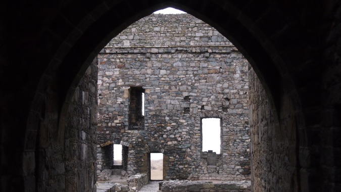 Windows of Harlech Castle