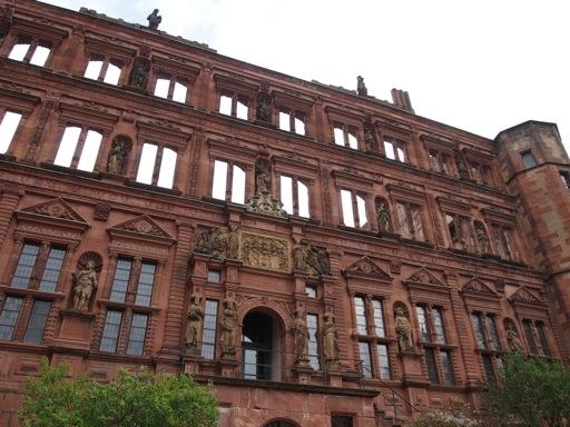 Heidelberg Castle Renaissance Facade