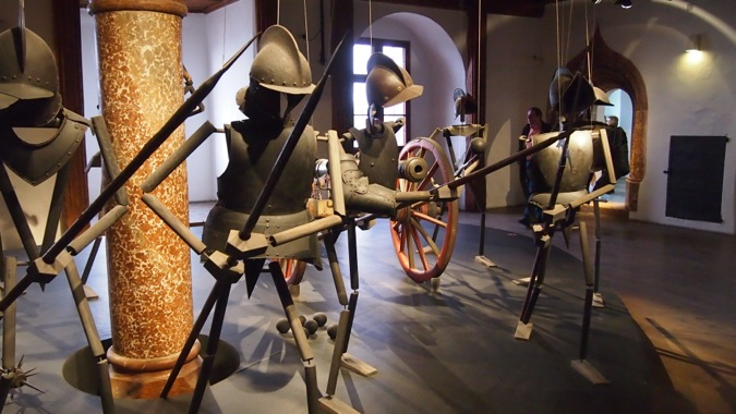Display of Armour in Salzburg Castle