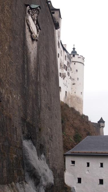 Hohensalzburg Curtain Wall