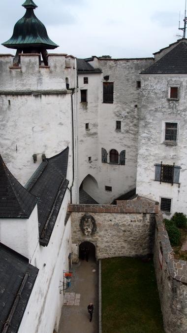 Hohensalzburg Courtyards