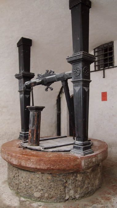 The well of Hohensalzburg Castle