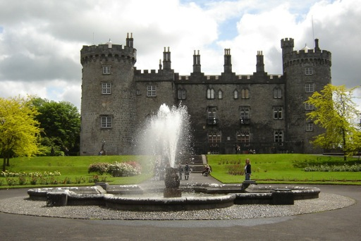 Kilkenny Castle Approach and Fountain