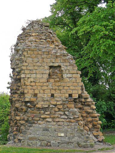 Pontefract Castle gatehouse