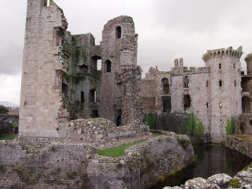 Raglan Castle great tower