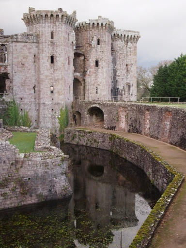 Gatehouse reflected into moat