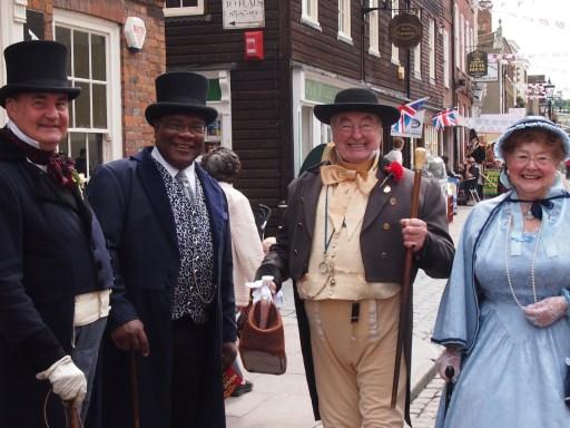 Dickens festival in Rochester