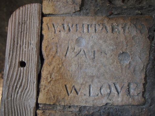 Rochester Castle Graffiti