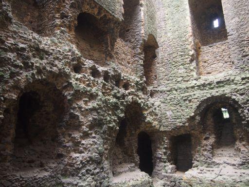 Rochester Castle Windows