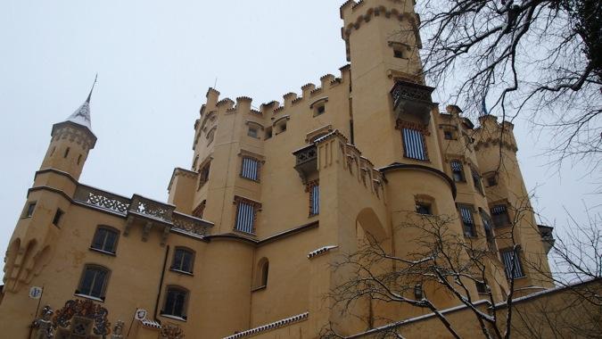 Hohenschwangau Castle battlements