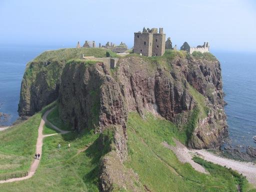 Scotland Castle Dunnottar