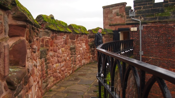Tamworth Castle Battlements