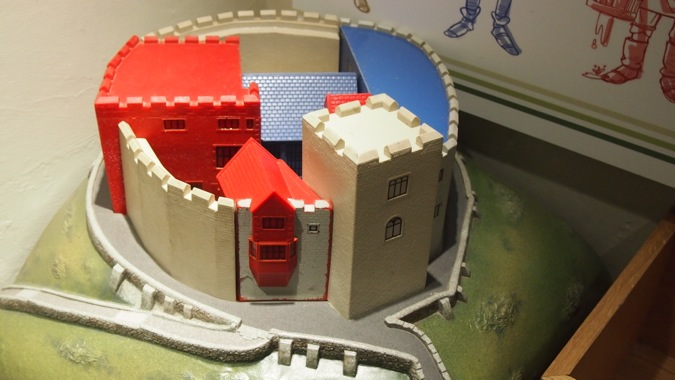 Tamworth Castle Model