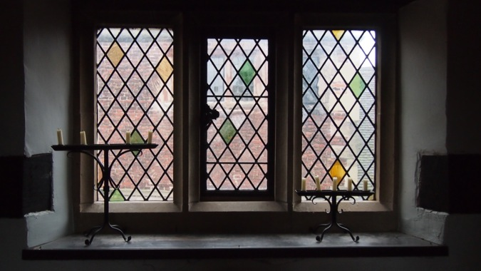 Tamworth Castle Window
