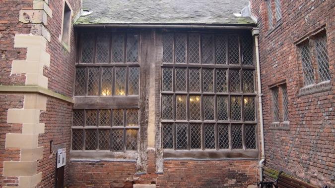 Tamworth Castle Tudor Window