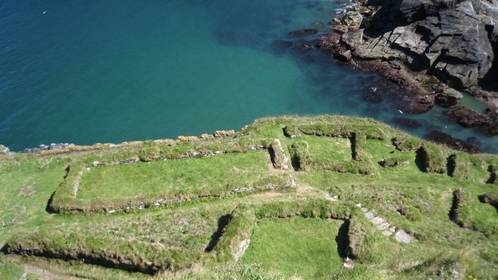 Dark Age remains, Tintagel