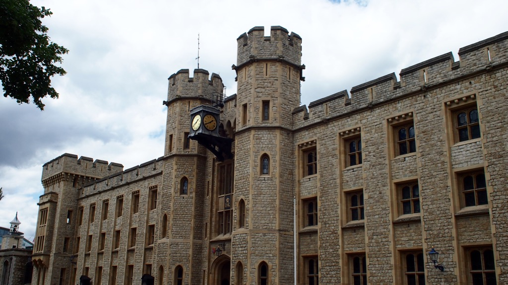 Treasury in in the Tower of London