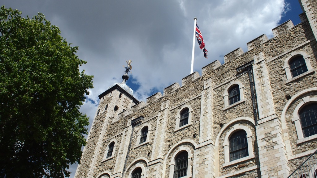 Entrance to the White Tower, Tower of London