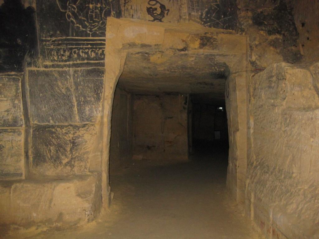 The secret tunnels running beneath Valkenburg Castle. Credit: Sofia K, CC-BY-NA-2.0