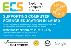 Supporting Computer Science Education in LAUSD