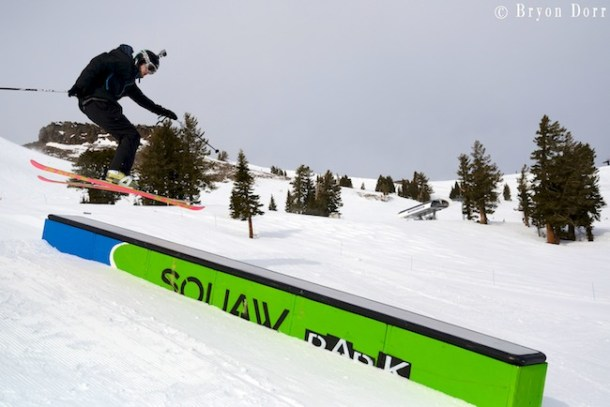Squaw has quite a few parks with features of all sizes.