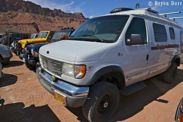 Sportsmobile infultration at Jeep Safari:)