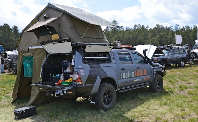 American Expedition Vehicles >> Vehicles of Overland Expo 2013: TOYOTA - EXPLORING ELEMENTS