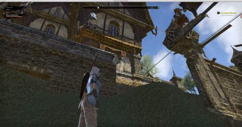 How to Use Chat in ESO - Stuck under the stairs