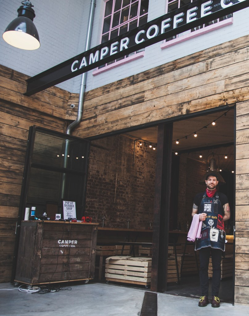 Pj of cut the punx at camper coffee, Image by Tempo Media