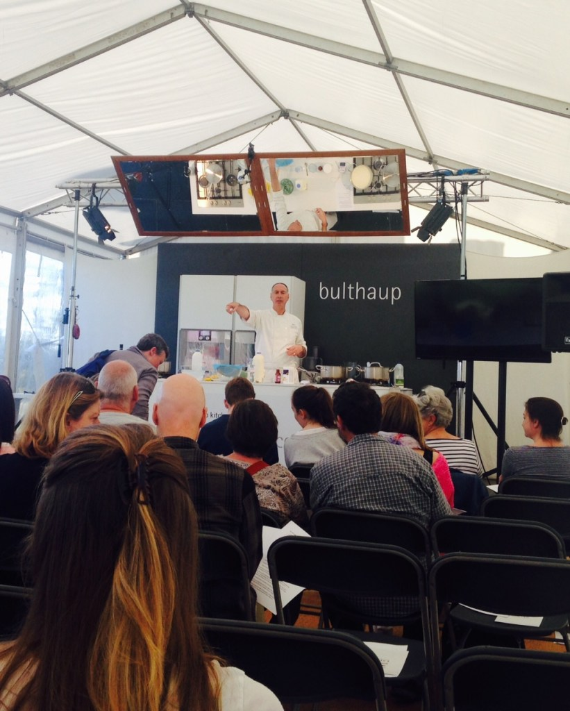 Exeter cookery school at powderham food festival for exploring exeter