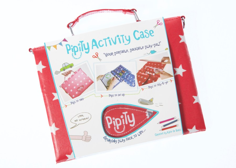 Pipity creates crafty kits to keep the children busy over the holidays (especially on lon journeys). They make the perfect Christmas stocking filler! (Exploring Exeter 2017)
