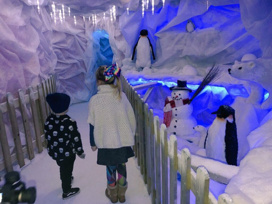 The other week, Amelie took a trip to Woodlands Adventure Park for meet Father Christmas. Exploring Exeter