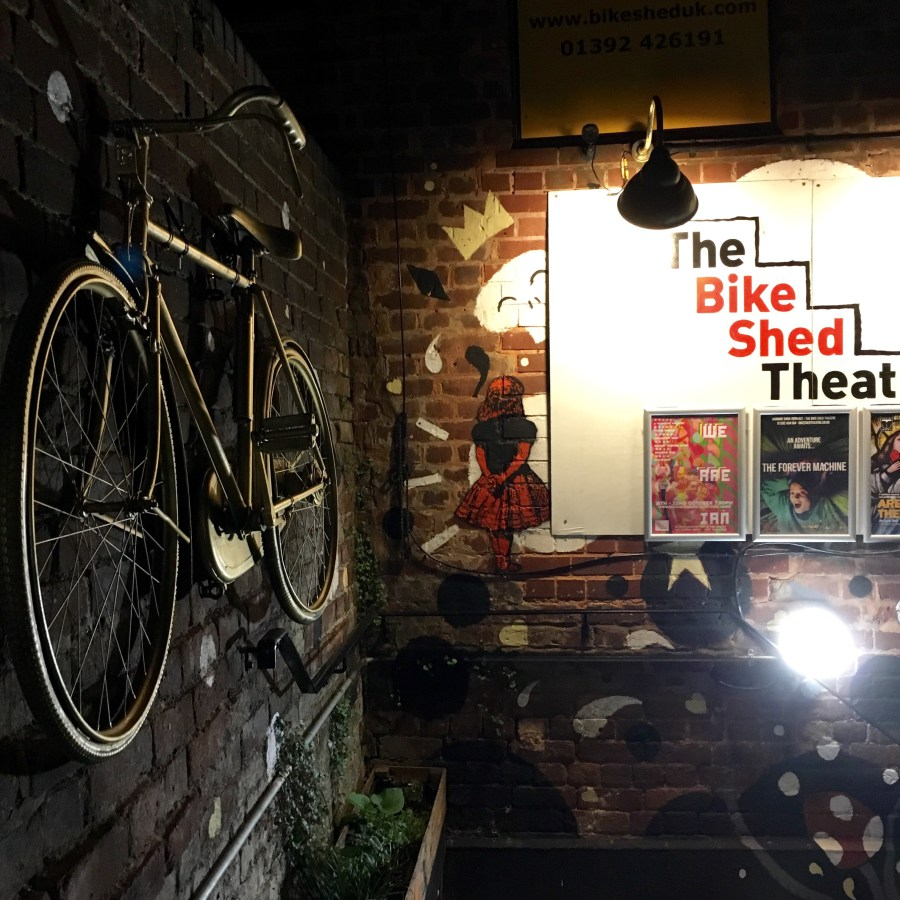 Exeter's Bike Shed Theatre prepares to shut its doors after eight years. pic by Stephanie Darkes, Exploring Exeter 2017