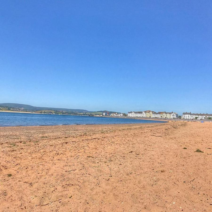 Queen's Drive Space in Exmouth, Devon this summer, Exploring exeter