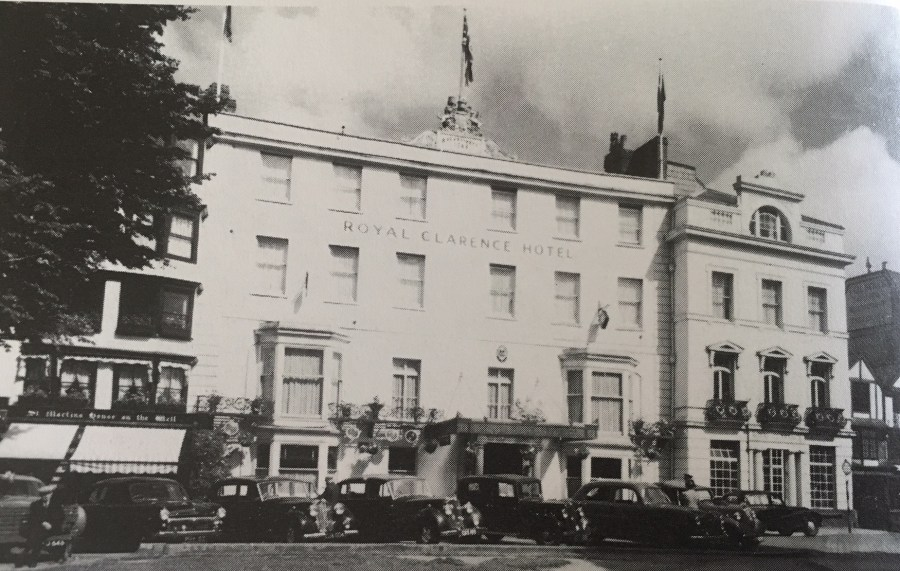 The glorious history of Exeter's Royal Clarence Hotel (Exploring Exeter)