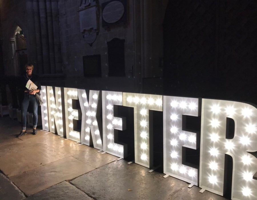 The Slow Fashion Show with Sancho's and In Exeter (by Shelley Kelly), exploring exeter 2018