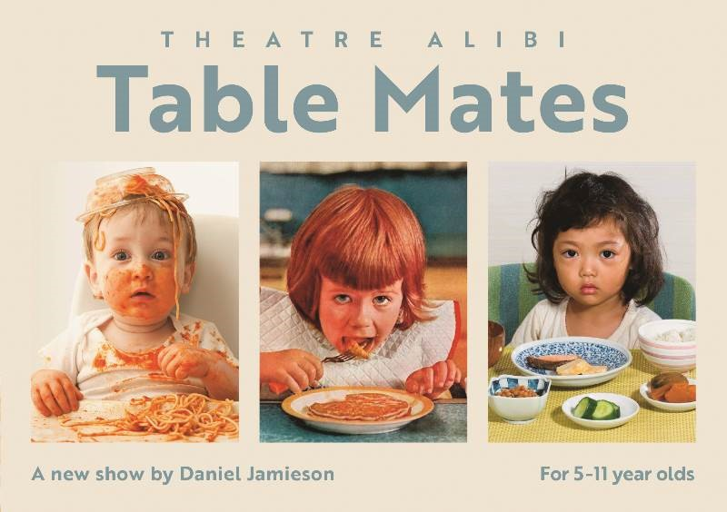 Theatre: Get messy with the 'Table Mates' at a primary school near you. Review by Stephanie Walker. Exploring Exeter