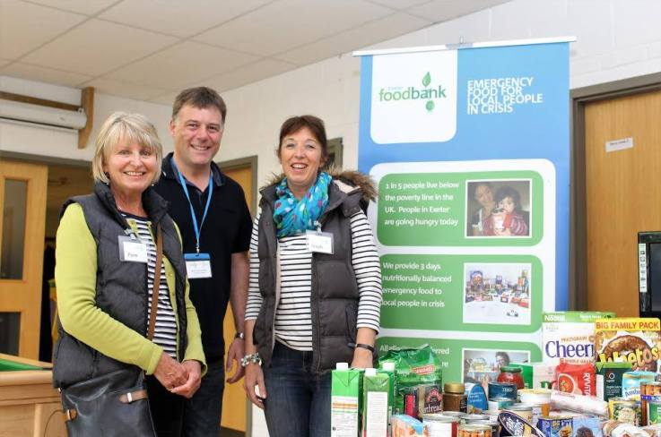 Feeding a need in our community: Exeter Foodbank